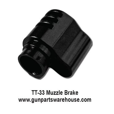 TT-33 Compensator, Muzzle Brake in 9mm Para