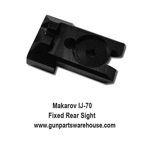 Makarov IJ-70 Fixed Rear Sight